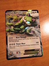 NM TORNADUS EX Pokemon card DARK EXPLORER Set 90/108 Black and White Ultra Rare
