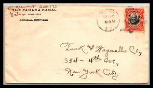 GP GOLDPATH: PANAMA COVER 1918 _CV752_P16