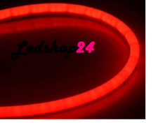 Angel Eyes Tuning Style Fari LED Tubo flessibile 2x45 cm Mono Colore Rosso DRL**