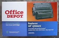 Office Depot HP Toner Cartridge LaserJet 4250 4345 4350 Black High Yield Sealed