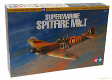 Tamiya Supermarine Spitfire MK 1 - Unpainted Plastic Model Kit 1/72 Scale