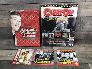 Carry On Books & DVDs Carry on Constable Uncensored, Kenneth Williams Up Pompeii