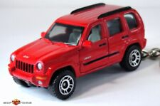 VERY RARE!! KEY CHAIN RING RED JEEP LIBERTY 4X4 BRAND NEW CUSTOM LIMITED EDITION