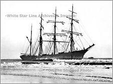PHOTO SHIPWRECK: Japanese Sindia, Ocean City, NJ, From Kobe, Japan, Dec 15, 1901