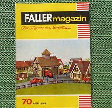 Faller AMS ---  Faller Magazin 70, April 1969