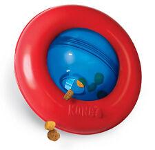 Kong Gyro Food Dispensing dog toy Roll & flip action Engaging - 2 sizes
