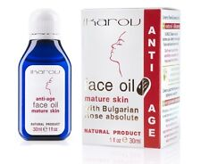 Anti Wrinkle Face Oil for Mature Skin Ikarov with Bulgarian Rose & Wheat Germ