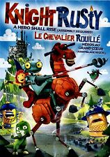 BRAND NEW DVD // KNIGHT RUSTY // A HERO SHALL RISE // ENG, SP, FRENCH AUDIO