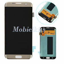 For Samsung Galaxy S7 Edge G935A G935P G935V LCD Screen Digitizer Touch Gold USA