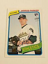 2012 Topps Archives Baseball Rookie #146 - Jarrod Parker RC - Oakland Athletics
