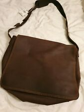 BNWT HOUSE OF FRASER BETWEEN LEATHER MESSENGER BAG RRP £99