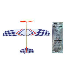 Flying Glider Planes Aeroplane Model Toys Rubber Band Educational Childrens Gift