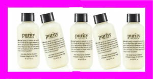 PHILOSOPHY Purity Made Simple One Step FACIAL CLEANSER Makeup 5 x 3oz = 15oz!!!!