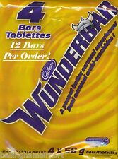 Wunderbar Chocolate Bars From CDN 12 Bars with each order! FAST FREE SHIPPING!!!