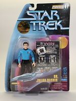 1997 Playmates Star Trek Warp Factor Series 1 Dr. Julian Bashir Figure Toy