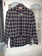 BURBERRYS WOMANS NAVY JACKET AND SKIRT SUIT SIZE M NEW WITH TAGS RRP  £899