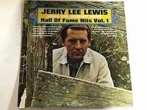Jerry Lee Lewis Hall Of Fame Hits Vol 1  EXc Smash Label 12 LP Record