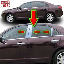 Chrome Pillar Trim for Lincoln MKZ/Zephyr 10-12 6pc Set Door Cover Post