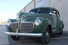 1941 Plymouth Deluxe Business Sedan Coupe