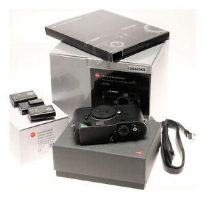 Leica Monochrom CCD Black Digital Rangefinder Camera 10760 Box