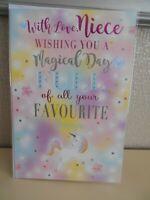 Birthday Card B30 Wishing Well Happy Birthday Niece
