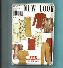 NEW LOOK 6577 pattern career wardrobe Sz 8 10 12 14 18