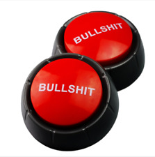 Bullshit Sound Talking Button Event Game Party Toys 90*40mm Necessaries Vogue