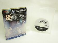 Game Cube KIWAME MAHJONG DX II 2 No Instruction bcnc Nintendo Japan Boxed gc