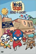 DVD - Animation - Mucha Lucha - Heart of Lucha - Kimberly Brooks - Terry Klassen