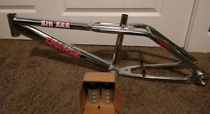 Fishbone Big Ass BMX Frame + 2 Pegs. NOS. RARE!!! Old-school Mid-school