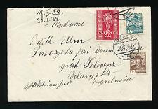 Brief 17.1.1938 aus Graz nach Jugoslawien    (A20)