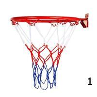 Indoor/Outdoor Wall Mounted Hanging Goal Basketball Hoop Metal Hoop 32cm/45cm uk