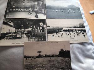 5x Printed Postcards- Ecole, De Bon Secours,Jersey