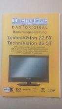 TechniSat Bedienungsanleitung Technivision 22ST 26ST