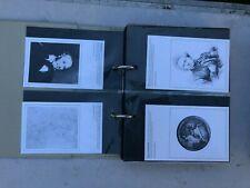 More details for national postal museum postcards(265) 2 albums