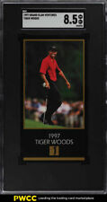 1998 Champions Of Golf Masters Collection Tiger Woods ROOKIE RC SGC 8.5 (PWCC)