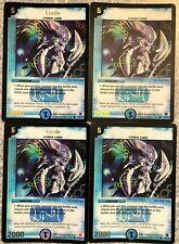 DuelMasters - four (4) x *foil* Corile T4/Y1 promo card