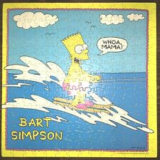 The Simpsons Bart Simpson Jigsaw Puzzle vintage 1990 250 Piece COMPLETE
