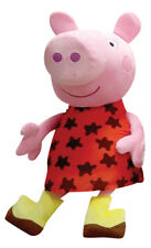 "Peppa Pig Plush 13.5"" with Muddy Dress"