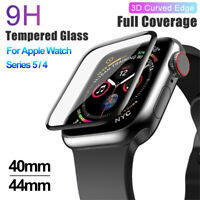 Screen Protectors Tempered Glass iWatch 40mm 44mm for Apple Watch Series 5 4
