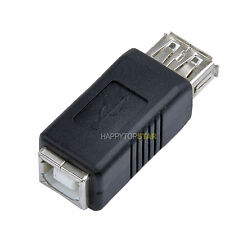 USB 2.0 A Female to USB B Female Printer Scanner Adapter Converter Connector