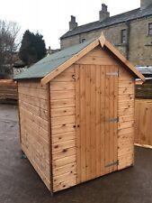 6x6 B-Grade T&G Wooden Garden Shed - Factory Seconds - Cheap Store Garden Hut