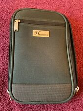 Hercules Collection UNISEX Green Canvas Travel Toiletry Bag w/ Handle ~ NEW ~