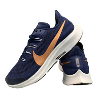Nike Air Max Zoom Pegasus Women's Shoes Size Uk 4 Navy Running Trainers EUR 36.5