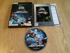 STAR WARS GALAXIES JUMP TO LIGHTSPEED EXP 1 PC GAME BY LUCASARTS ENTERTAINMENT