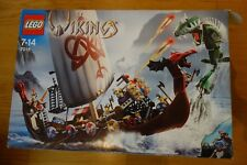 LEGO 7018 Viking Ship Challenges the Midgard Serpent complet
