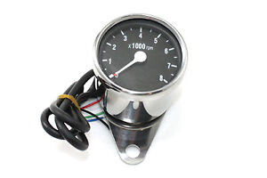 Mini 60mm Electronic Tachometer For Harley-Davidson