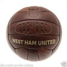West Ham United Taglia 5 Retrò Heritage Football (i martelli)