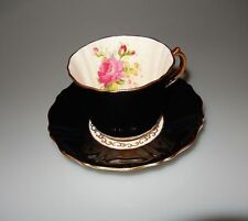 Old Royal Bone China WETLEY ROSE Cup and Saucer