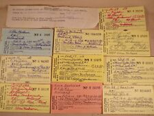 Vintage Michigan Resident Hunting License 50s 60s Holland Zeeland